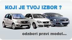 We offer over 30 car models