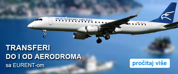 Airport car transfers in Montenegro